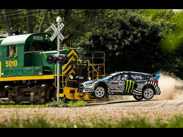 [HOONIGAN] Ken Blocks GYMKHANA NINE Raw Industrial Playground