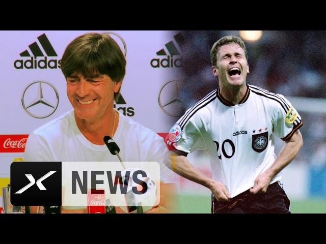 Oliver Bierhoffs Golden Goal jährt sich, Joachim Löw ist genervt   EM 1996