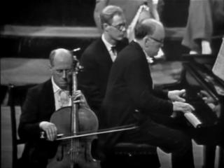 М. Ростропович, С. Рихтер - Л. Бетховен, Соната для виолончели и фортепиано №5 ре мажор op.102 №2