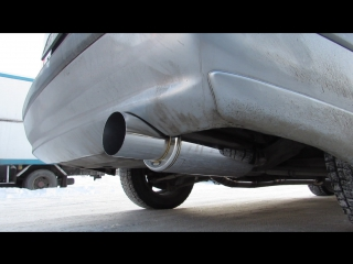 Toyota Carina GT cat-back by WELDone workshop