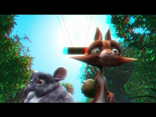 Big Buck Bunny Full Color Anaglyph (3D анаглиф)