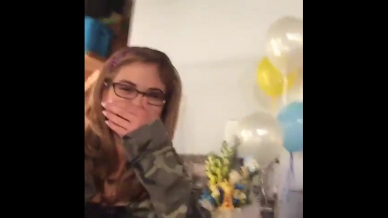 Личное видео МакКэйли со съёмок Сердце Дикси