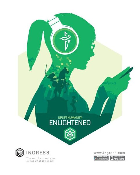 Ingress. Enlightened.