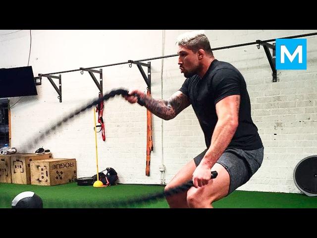 Brendan Schaub Strength Conditioning Training | Muscle Madness