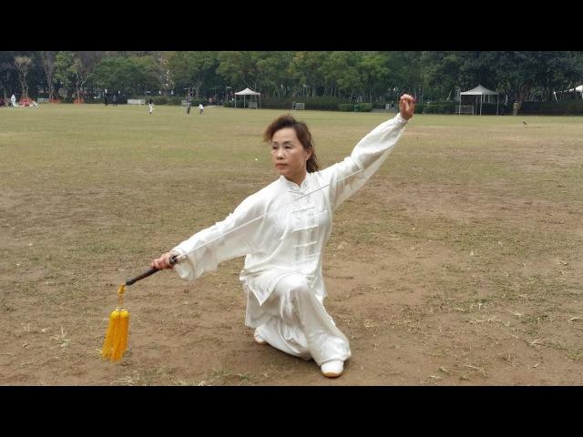 徐鈿英太極拳教學系列 四十二式太極劍 Tsui Tin Ying Taijiquan Teaching Series 42 types Taiji Sword