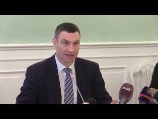Очередной перл от Виталия Кличко: Киевляне просыпались без каких-либо разрешений