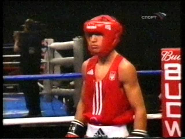 Василий Ломаченко-Михаил Бернадский.Чемпионат Мира 2007 Vasyl Lomachenko Hi-Tech amateur boxing