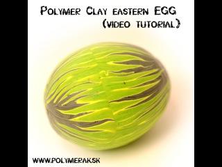 Polymérové Veľkonočné vajíčko / Polymer Clay Eastern Egg