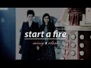 Missy x clara (misffle) | start a fire | doctor who