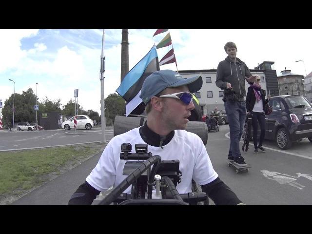 BelarusAlien 15 день Съёмки для местного тв Таллин
