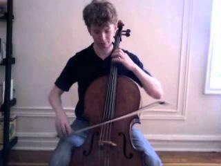 POPPER PROJECT #27: Joshua Roman plays Etude no. 27  for cello by David Popper (crazy fast!)