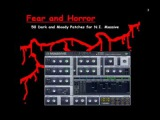Horror, Scary Dark Ambient, Industrial or Sci-Fi Presets Patches. Sounds for N.I. Massive VST Synth.