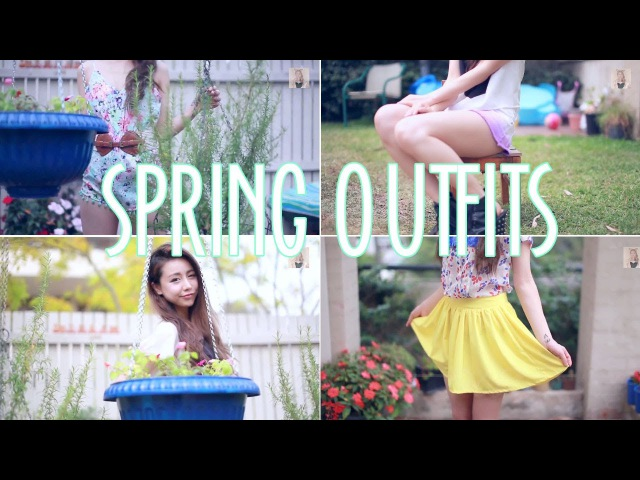 Spring outfit ideas: playsuit, ombre shorts and brightly colored skorts! GIVEAWAY! Wengie