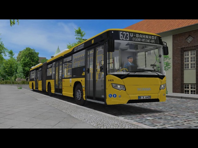 OMSI 2 Berlin X10 Route 623 Scania CityWide GN 14