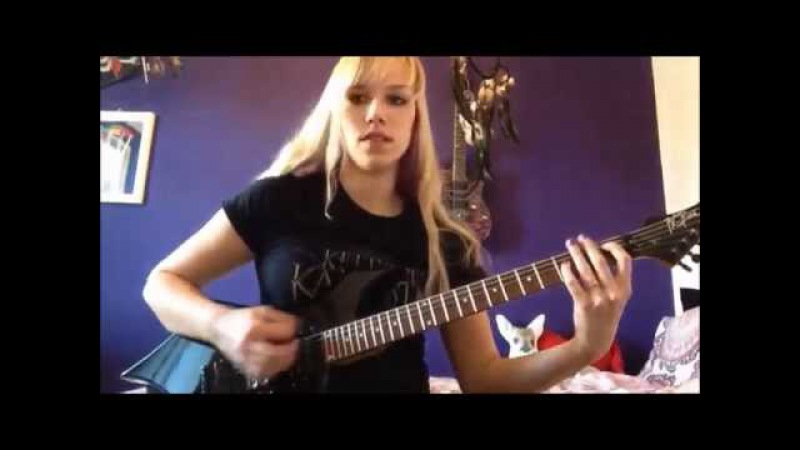 Sepultura - Subtraction guitar cover by Simone van Straten
