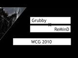 WC3 Grubby (Orc) vs. ReMinD (Night Elf) WCG 2010 GF G3  Warcraft 3