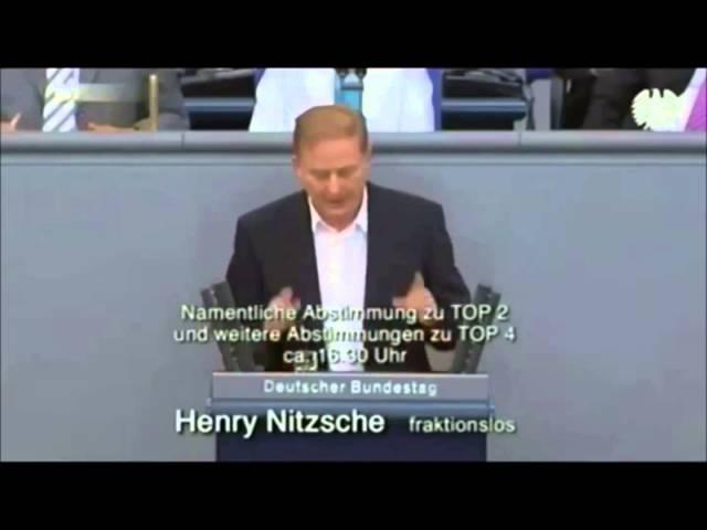 Henry Nitzsche über fehlende Souveränität Deutschlands
