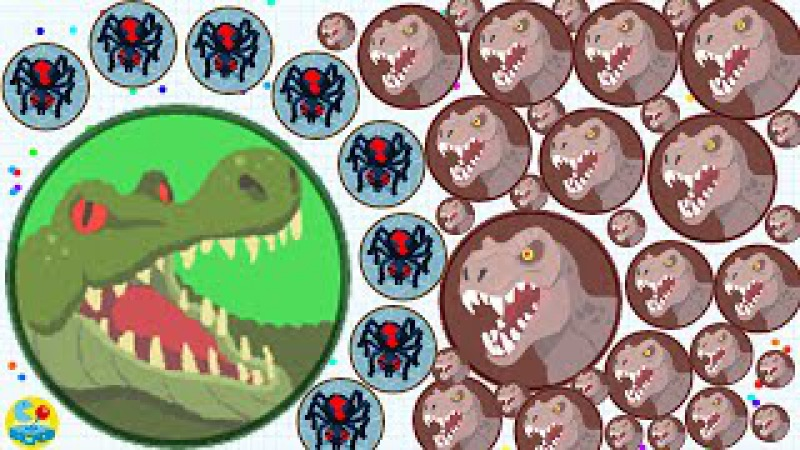 Agario Solo Epic Spider Skin Dominating The Server Trolling With Free Mass!(Agar.io Funny Moments)
