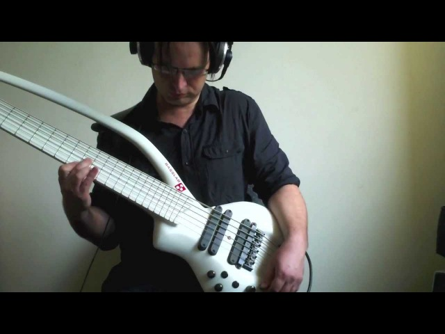 Roland GR-55 Demo Bass Mode with Basslab L-Bow 6 string bass