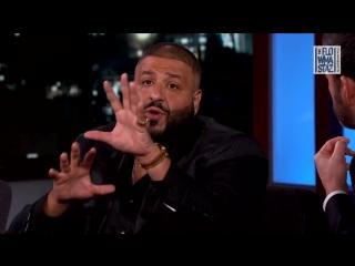 Dj Khaled в гостях у Jimmy Kimmel'a