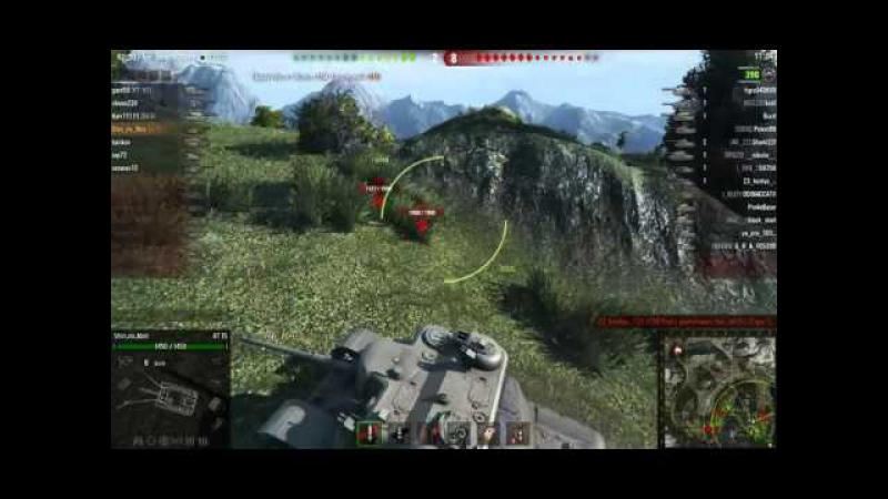 World Of Tanks Непробиваемый Сарай 10 Фрагов 7к Урона на AT 15