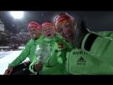 Краткий обзор женского спринта + моменты катания на оленях (Ханты 2016)