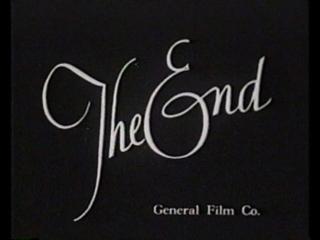Футаж The End