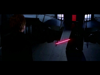 Люк Скайуокер против Дарта Вейдера и Императора.Звёздные Войны Эпизод 6.Возвращение Джедая