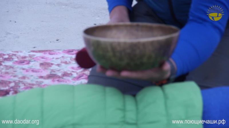 Тизер к обучающему видеоролику к курсу Тибетский виброакустический массаж поющими чашами в традиции Tsering Ngodrub