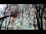 В Волгограде после взрыва в жилом доме мужчина, спасаясь от огня, упал с седьмого этажа
