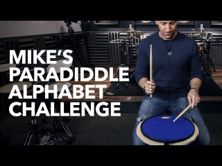 Mikes Paradiddle Alphabet Challenge