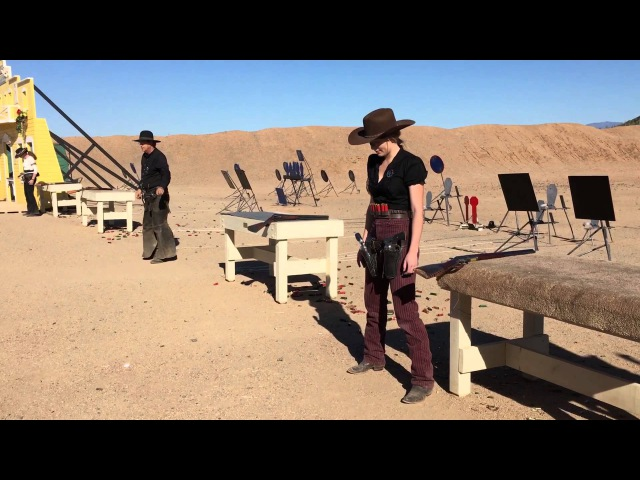Winter Range 2016 Top 16 Shootoff Cowboy Action Shooting Texas Tiger and SASS Kicker