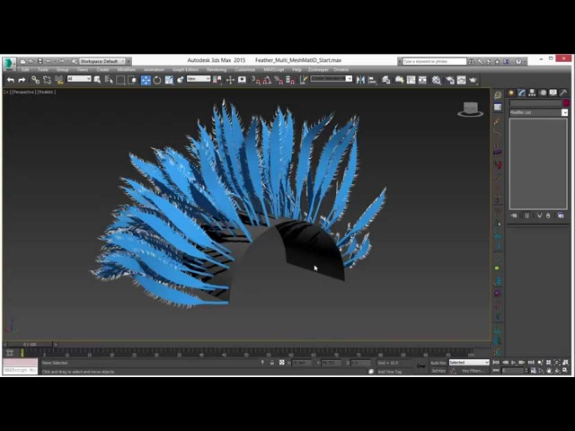 Ornatrix 101: Creating hybrid feathers on a deforming surface