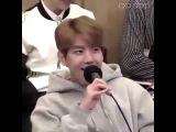 Baekhyun from exo (hello) adele😃