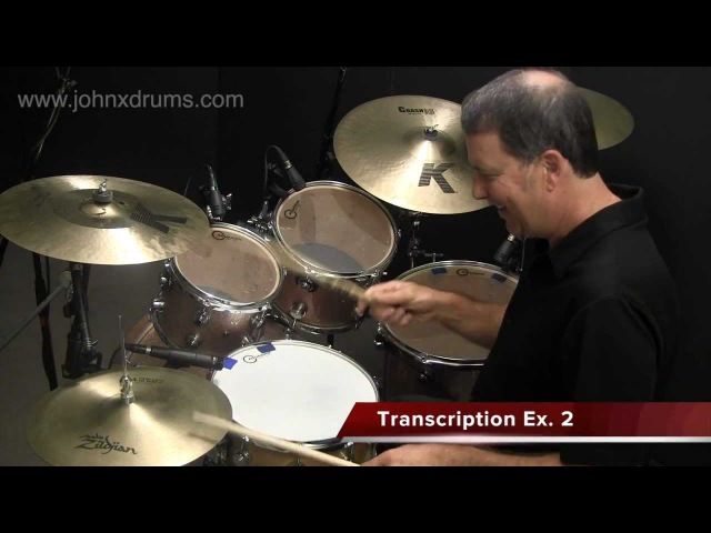 Paradiddle-diddle Hi-hat Fill - Online FUNK Drum Lessons with John X