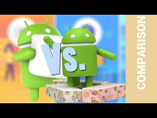 Тест быстродействия Android 6 Marshmallow и Android 7 Nougat