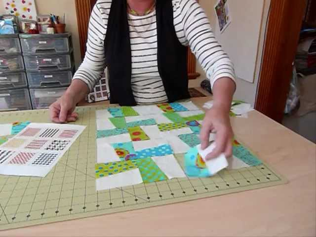How to have Fun with Five Inch Squares - Lets do the Splits! - Quilting Tips Techniques 051