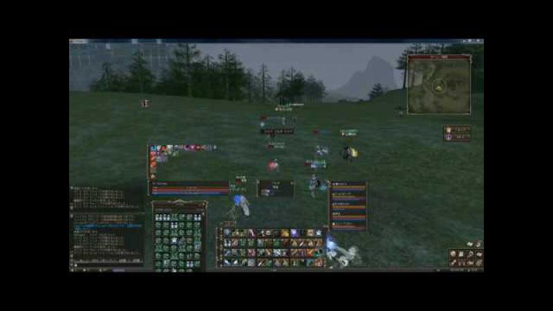 Lineage2 Classic JP Lv78黒弓 Castle Siege gvg
