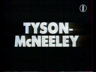 Тайсон-Макнили.Первый бой после тюрьмы(полная верс)Рус.яз 1995 год 1 канал. Tyson-McNeeley ...