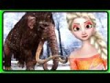 Baby Elsa &amp Anna Frozen Dance for Nursery Rhymes  Mammoth Elephant Hunting  Finger Family Rhymes