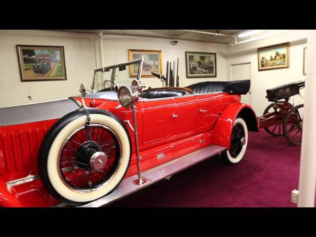 Выставка старинных авто в Лас Вегасе. The auto collection in Las Vegas.