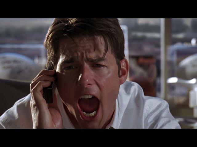 Х/ф «Джерри Магуайер» — Покажи мне деньги!