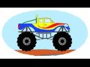 Все серии подряд - Сборник про Монстр-траки Monster trucks - Compilation For Kids