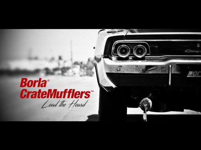 Borla CrateMuffler® Lead the Heard Big Block Chrysler 440