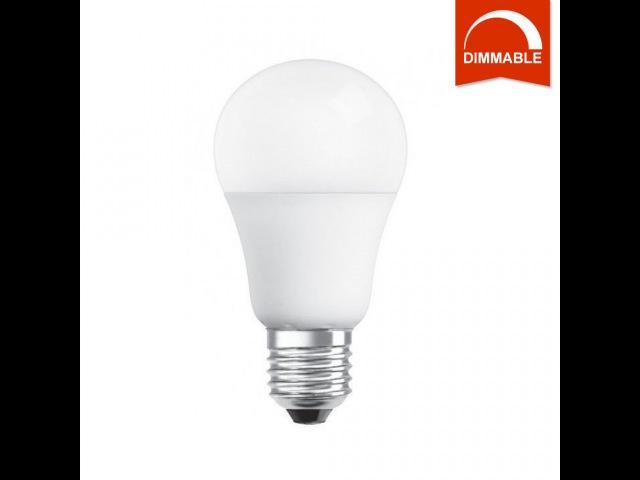 LED лампа OSRAM SUPERSTAR A60 10W 806lm E27 теплый белый, диммируемая, матовая, светодиодная