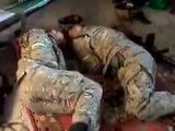 Война глазами врага: «правосеки» обустроили свою базу взахваченном умирных жителей доме