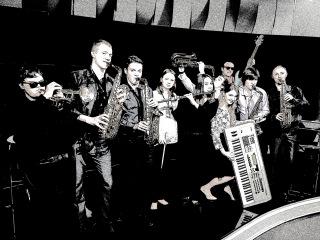 Джаз ансамбль Крымского университета культуры, искусств и туризма на Первом Крымском