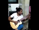 ...таланты не на сцене.....КОЛУМБИЯ Veronica Gutierrez La Dama del Requinto