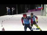 Биатлон - Олимпийские игры 2014 в Сочи - Мужская Эстафета - Золотой финиш Антона