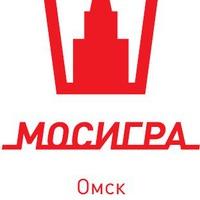 Логотип Мосигра Омск - отличные настольные игры!